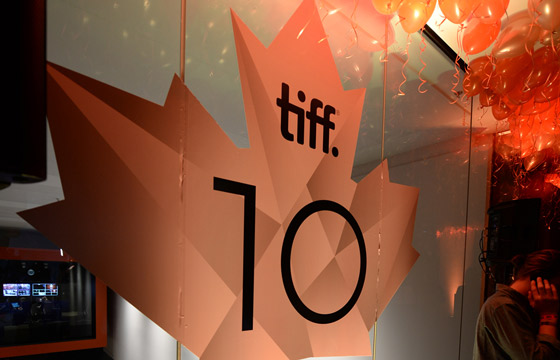 a TIFF CTT logo with balloons